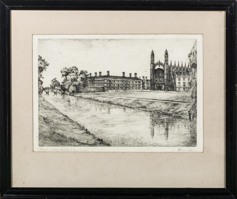 Lot 50 - Five framed engravings