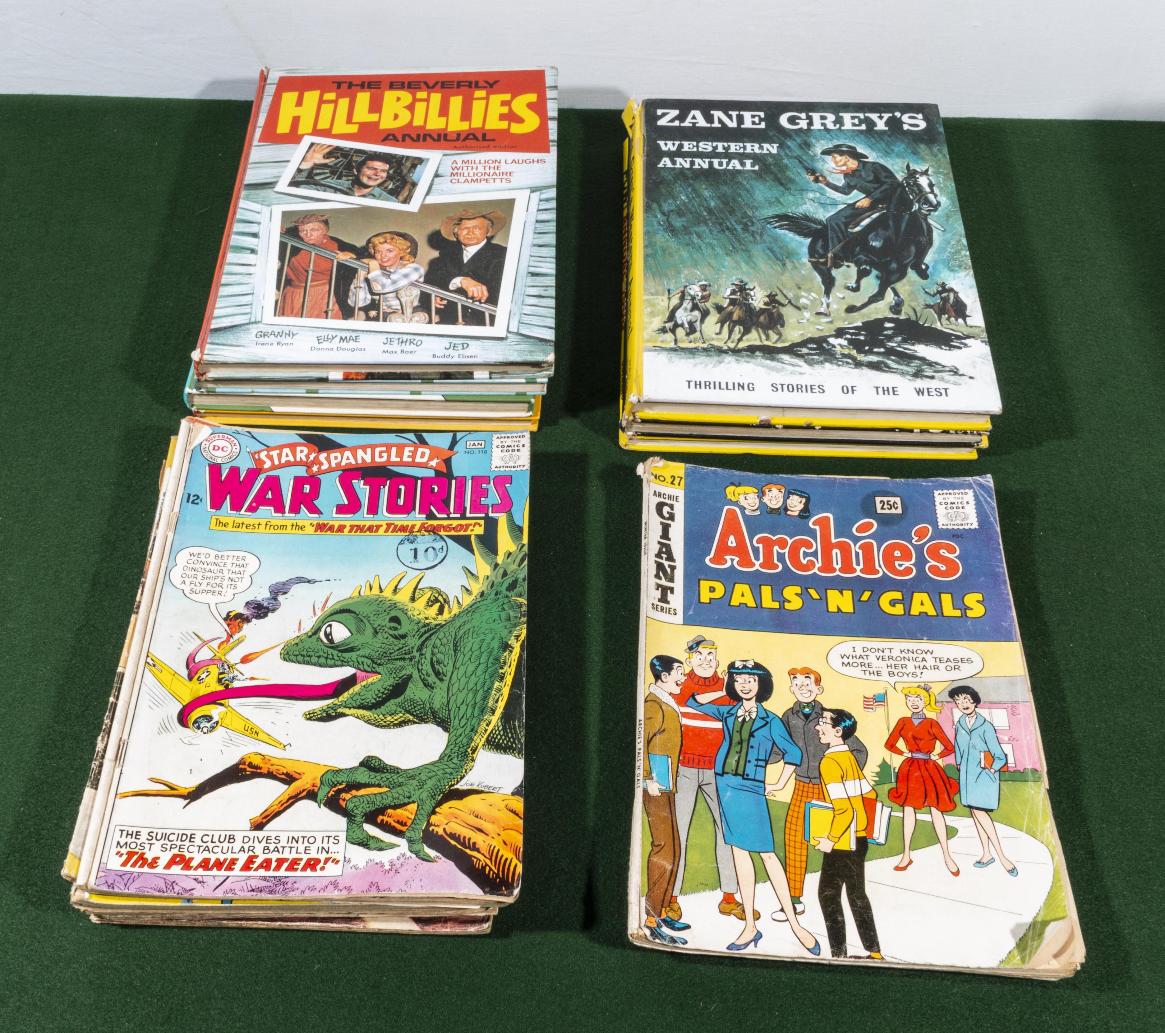 Lot 25 - A box of books and comics