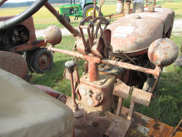 Lot 354 - FARMALL C, SN-12206, WOODS 59 MOWER, NON-RUNNING