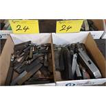 LOT (2) BOXES ASST. TOOLING