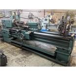 """TOS SN63C Lathe, 25"""" x 80"""", Mitutoyo 2-Axis DRO, 16"""" 4-Jaw Chuck, 4"""" Bore, Speeds to 1,000 RPM,"""