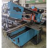 DO-ALL C-916 HORIZONTAL BANDSAW, S/N 470-89611 W/ 10' CONVEYOR AND (2) EXTRA BLADES