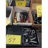 LOT HOLE PUNCHES AND THREAD FILES