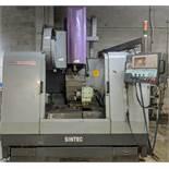 "SINTEC SMC-V500M CNC Vertical Machining Center, Mitsubishi CNC Control, 20"" x 40"" Table, (24) ATC,"