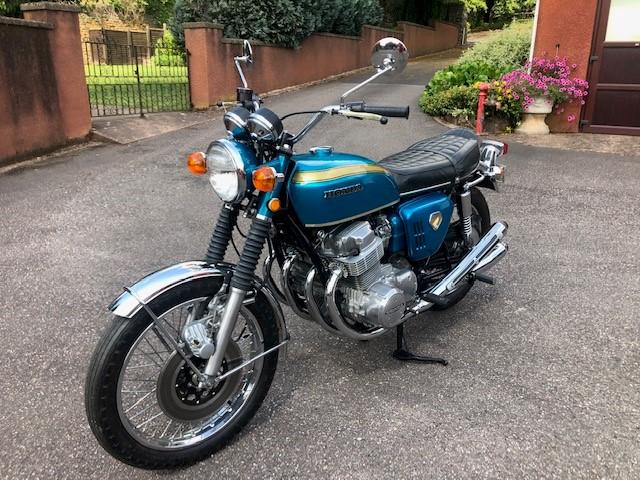 Lot 8 - A Honda CB750 Sandcast, manufactured 1969, registration VVK 228G, first registered 2016,