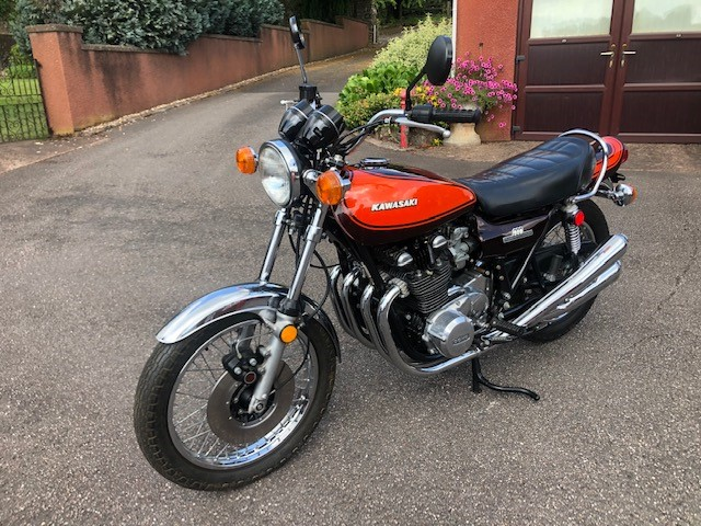 Lot 6 - A Kawasaki Z1 900cc, manufactured 1973, registration EWV 330L, 9081 miles unwarranted.