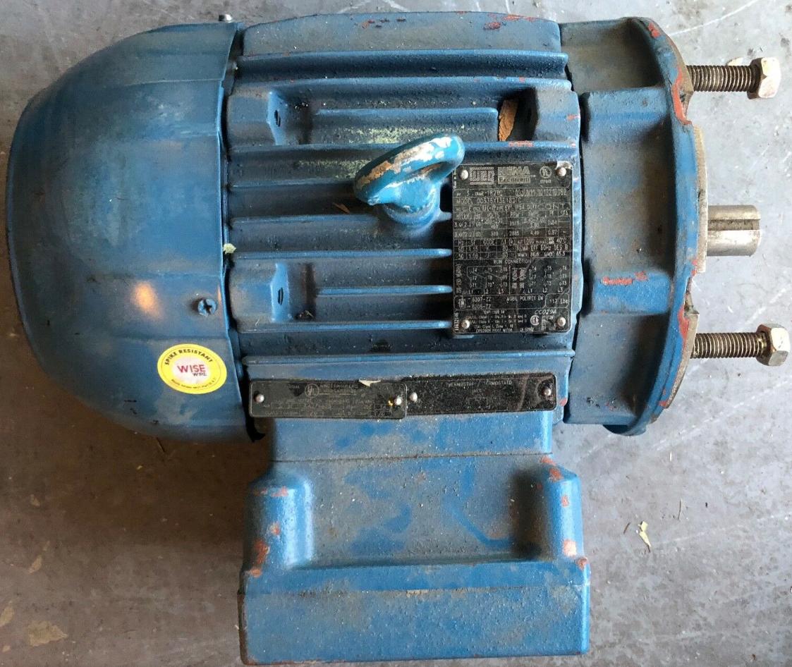 Lot 1M - WEG INDUSTRIAL MOTOR 00336XT3E182TC, 3HP EXPLOSION PROOF