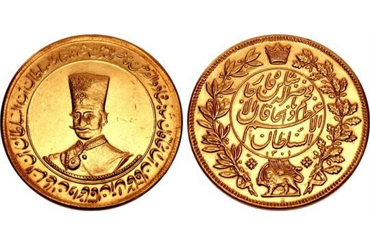 IRAN, Qajars  Nasir al-Din Shah  AH 1264-1313 / AD 1848-1896