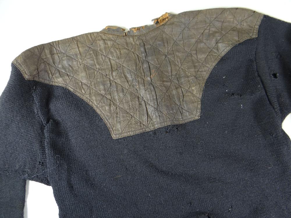 Lot 1 - A NEW ZEALAND ALL BLACKS RUGBY UNION SHIRT FROM SERGEANT HUBERT SYDNEY 'JUM' TURTILL (1880-1918)