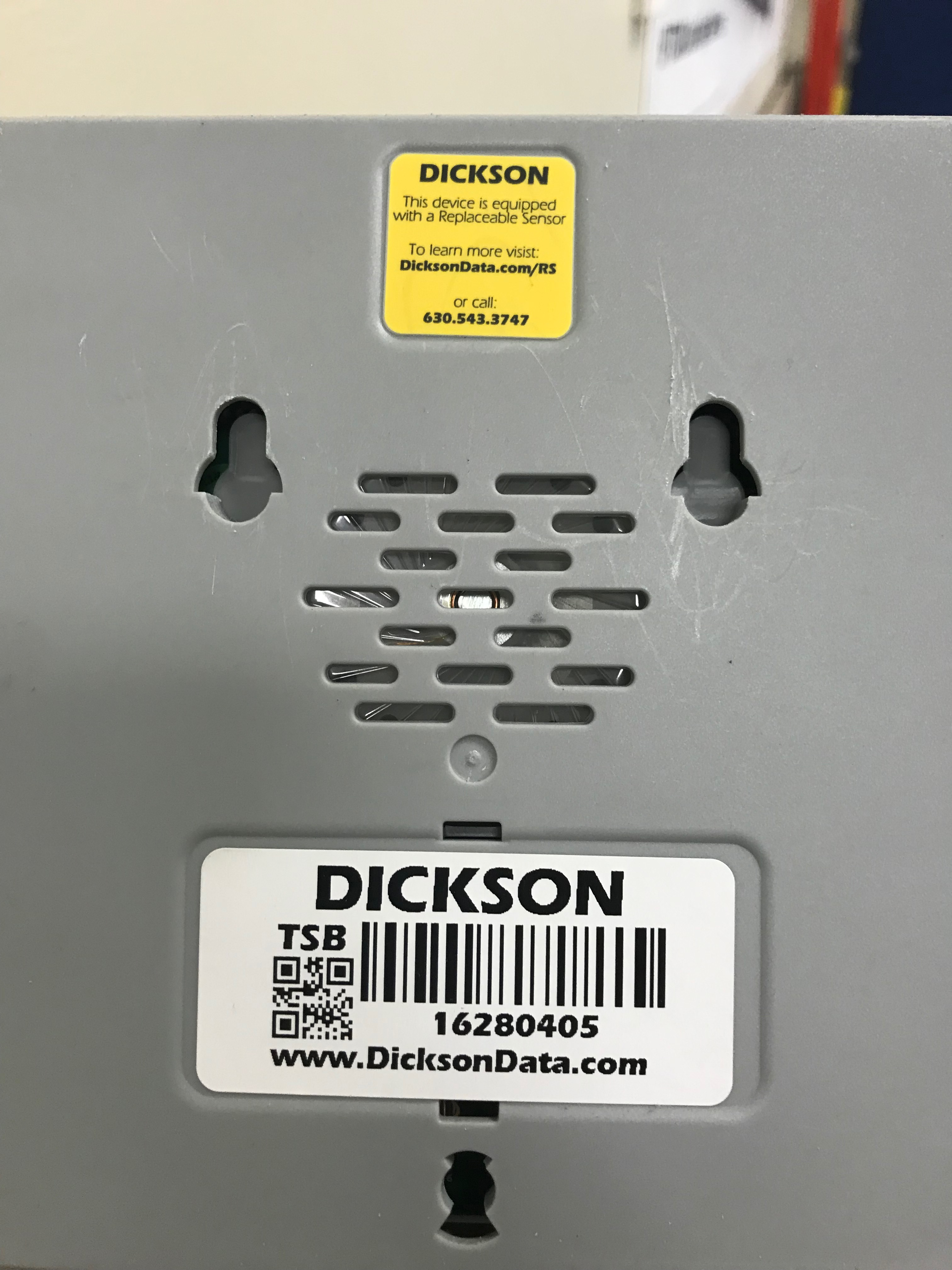 Lot 402 - (9) Dickson Temperature and Humidity Data Loggers, Removal Fee: $10