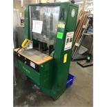 Hickok Dual Round Cornering Machine, Serial# 164175, 40 in wide x 30 in deep x 67 in tall, LIC# 2500