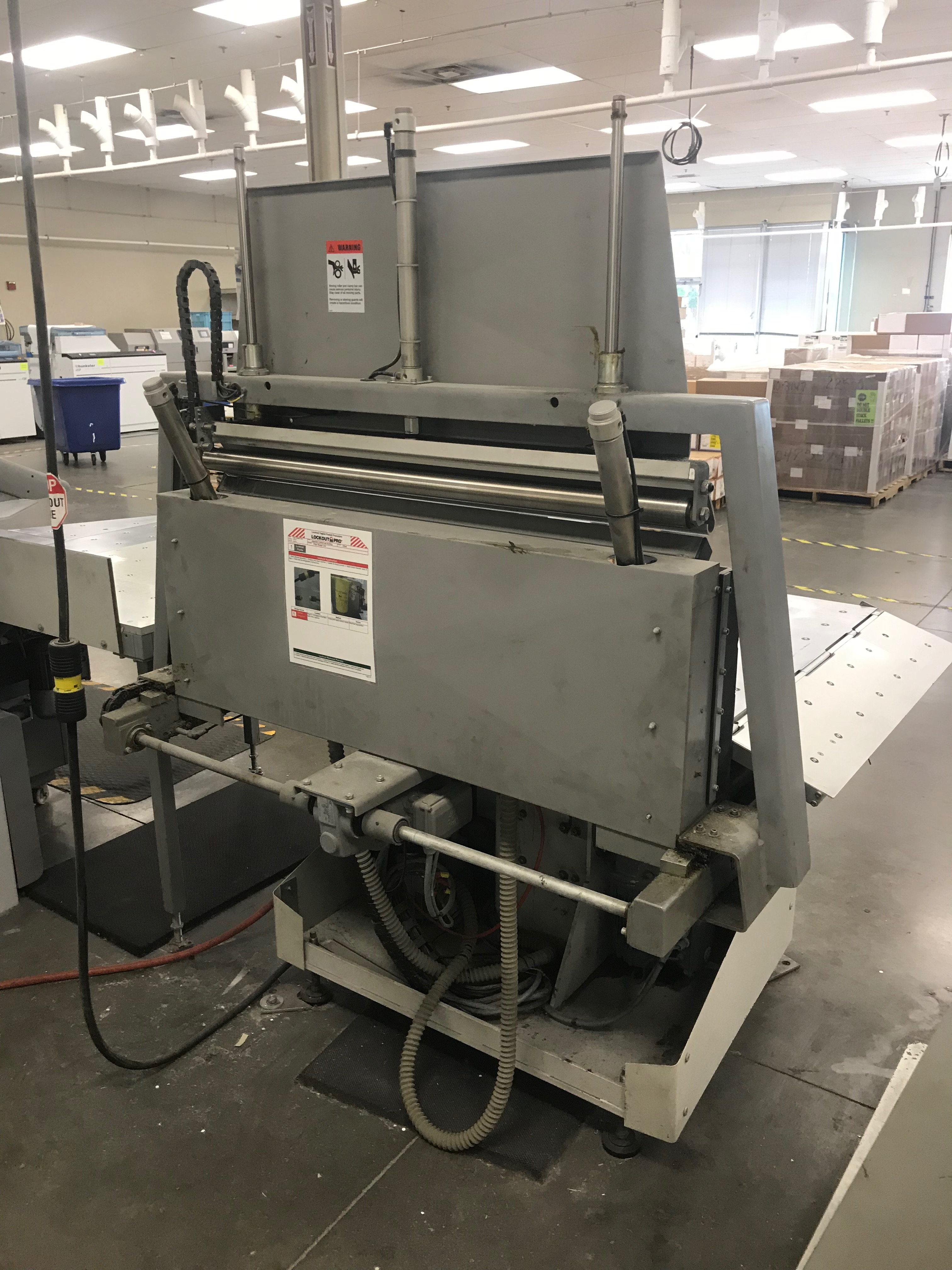 Polar-Mohr Automatic Jogger, Model# RA-4, Serial# 6982037, 3 Phase, 220 V, 60 Hz, 61 in wide x 51 in - Image 3 of 4