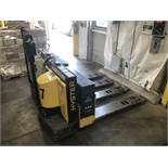 Hyster Electric Pallet Jack, Model# W60XT, Serial# E135H03374V, 12 Volt Battery, Rated Capacity 6000
