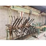 Taylor Clamp Carrier Serial A-981 8' Wide, 30 Clamps w/Flattener