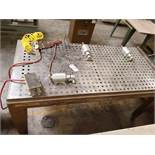 Ritter 3' x 6' Clamping Table