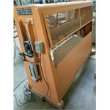 "Evans Rotark 60"" Pinch Roller Model: 0206 115V"