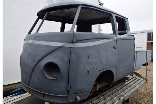 1966 VOLKSWAGEN Kombi Split Screen Crew Cab Pick-Up, Body Shell and