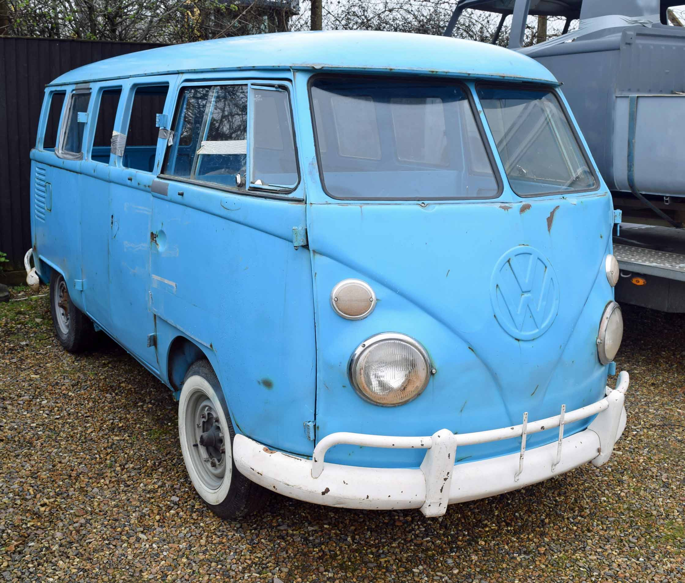 Lot 34 - 1975 VOLKSWAGEN Kombi Split Screen Van Rolling Chassis (Brazilian Import), Registration No. Not