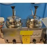 Server Electric 2-Spout Hot Fudge Warmer
