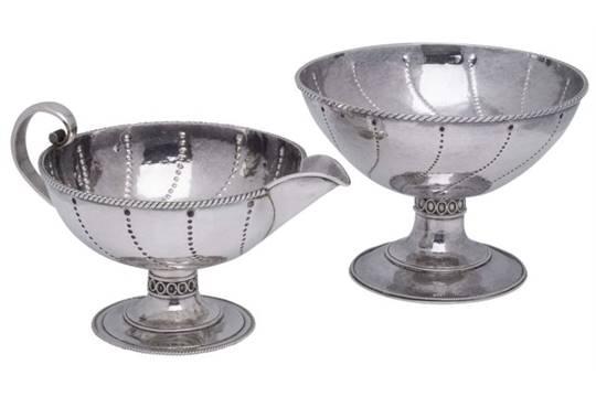 The Newcastle Handicrafts Company Arts Amp Crafts Silver Sugar