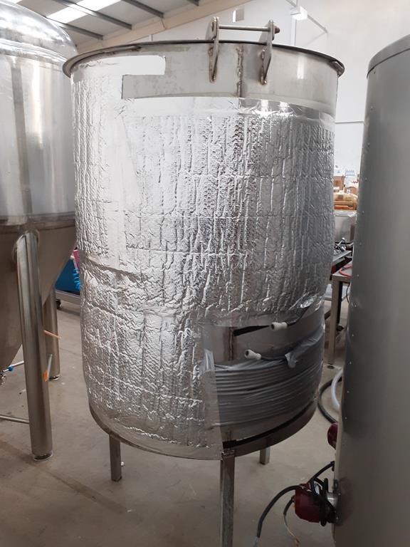 6ix Fabdec Fully Insulated Stainless Steel Mash Tun - Image 2 of 5