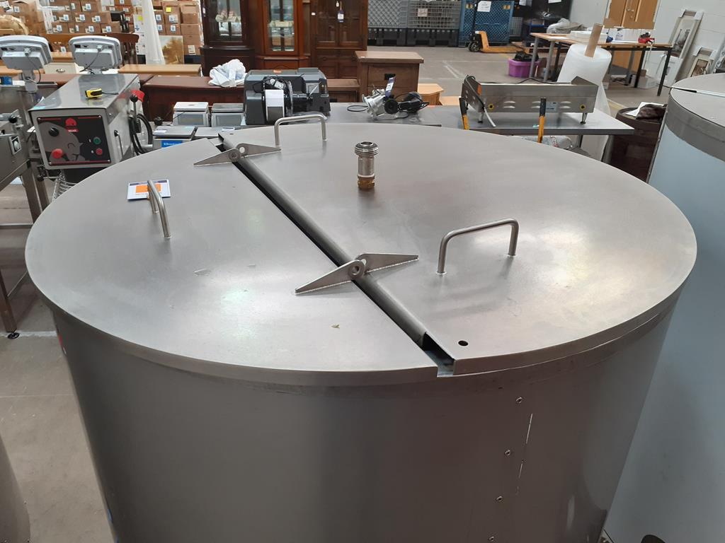 6ix Fabdec Stainless Steel CLT900l Water Tank - Image 3 of 5