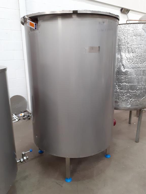 6ix Fabdec Stainless Steel Hot Liquor Tank (HLT)