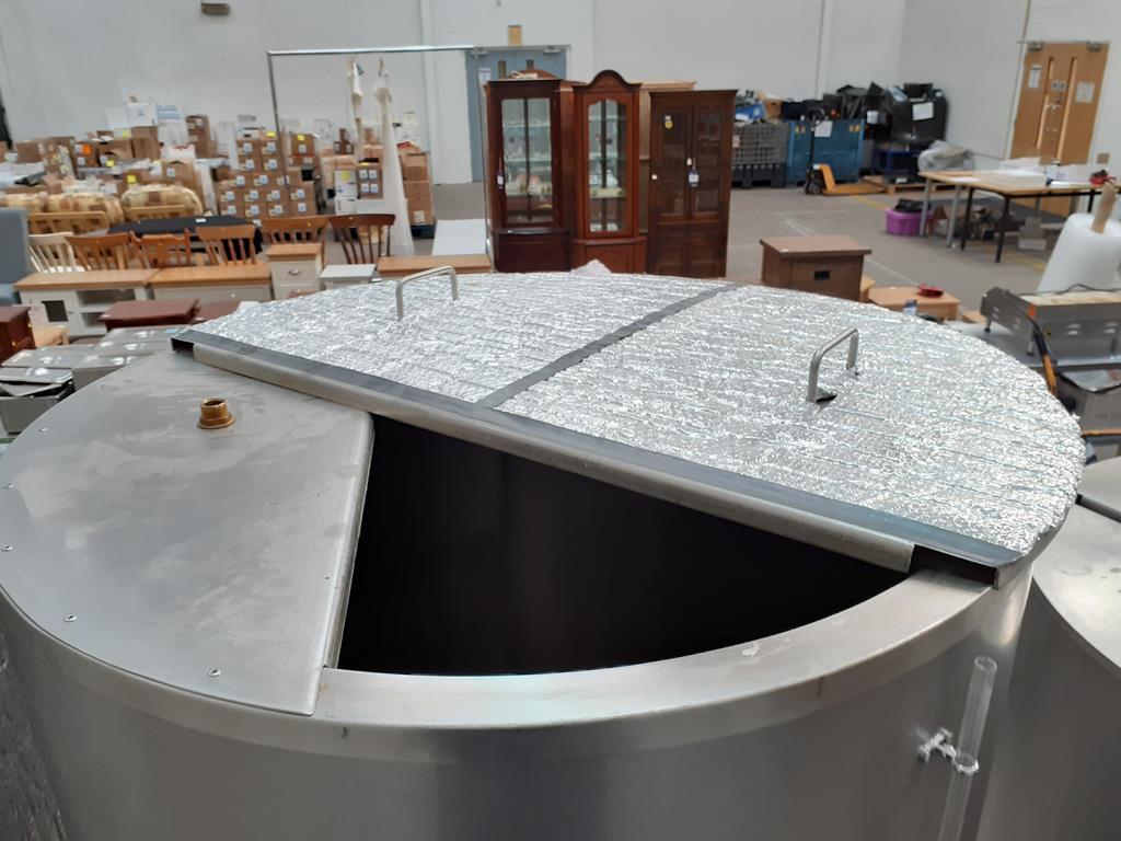 6ix Fabdec Stainless Steel Hot Liquor Tank (HLT) - Image 4 of 7