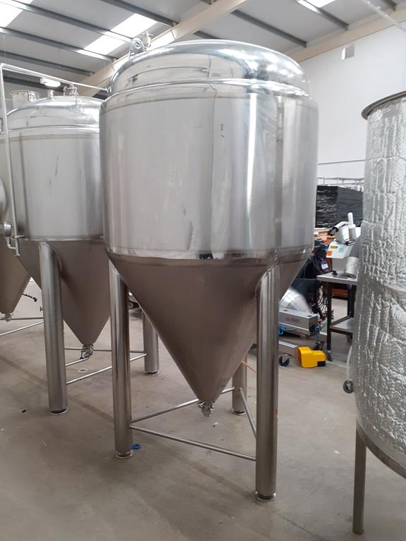 Kumbo 1200l Stainless Steel Beer Tank/conical FV - Image 3 of 6