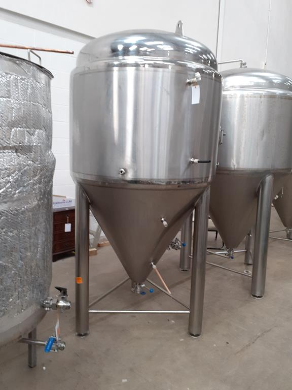 Kumbo 1200l Stainless Steel Beer Tank/conical FV - Image 2 of 6