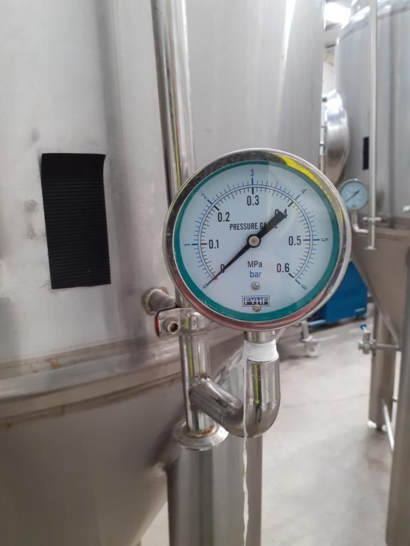 Kumbo 1200l Stainless Steel Beer Tank/conical FV - Image 6 of 7