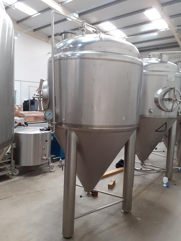 Kumbo 1200l Stainless Steel Beer Tank/conical FV - Image 2 of 7
