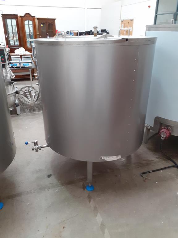 6ix Fabdec Stainless Steel CLT900l Water Tank - Image 2 of 5