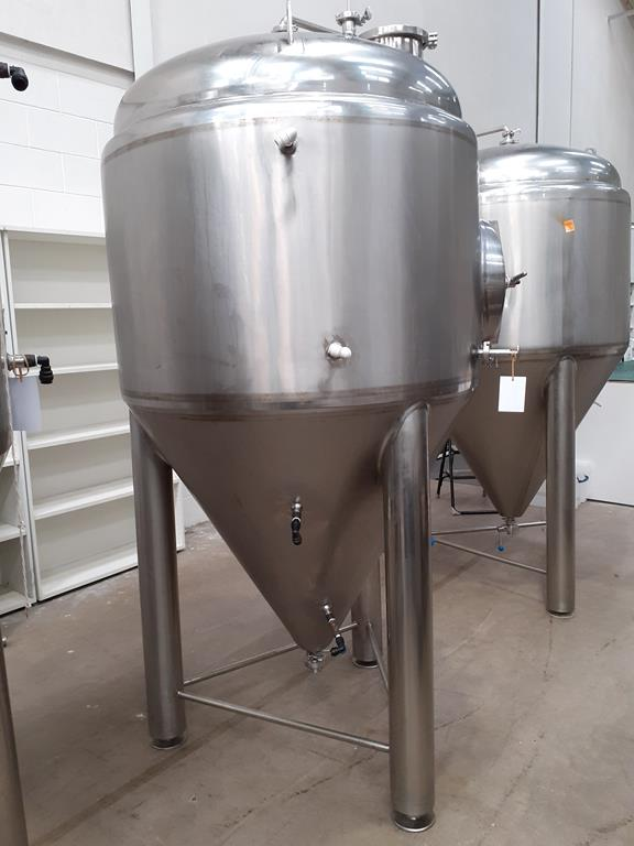 Kumbo 1200l Stainless Steel Beer Tank/conical FV - Image 3 of 7