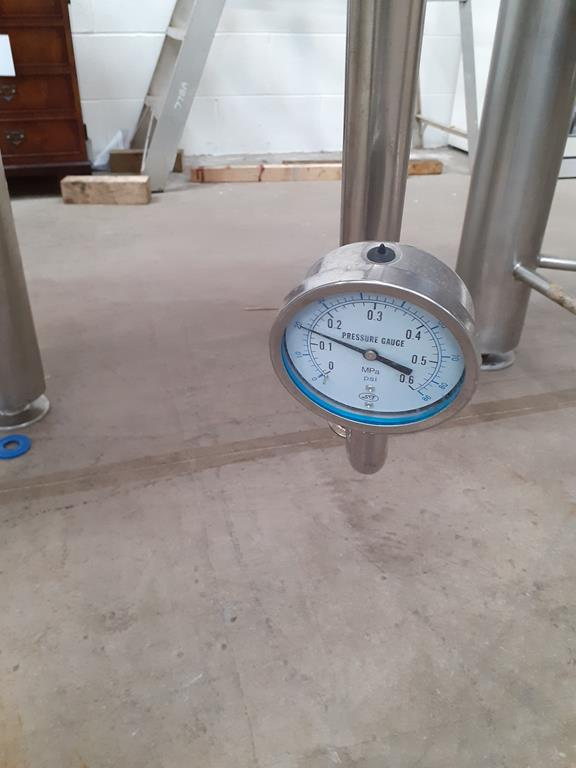 Kumbo 1200l Stainless Steel Beer Tank/conical FV - Image 4 of 6
