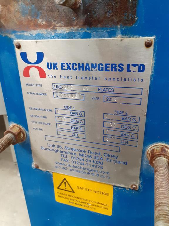 UKE - 2A3 Heat Exchanger - Image 2 of 5