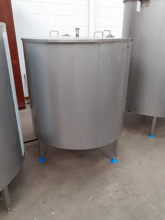 6ix Fabdec Stainless Steel CLT900l Water Tank