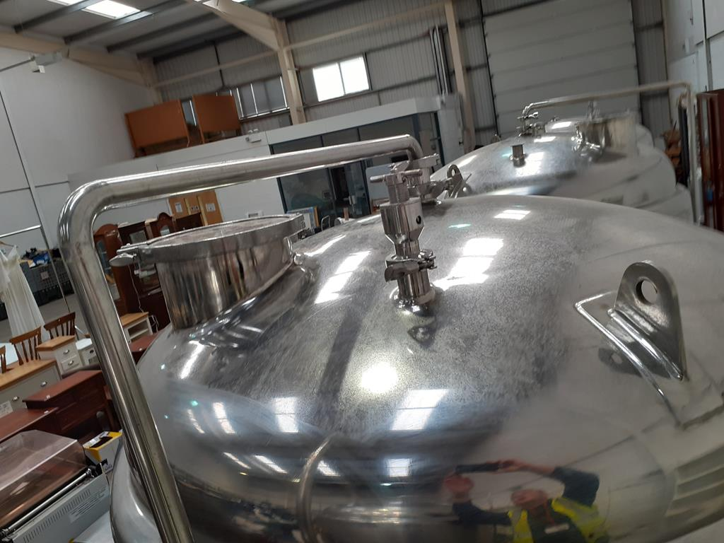 Kumbo 1200l Stainless Steel Beer Tank/conical FV - Image 7 of 7
