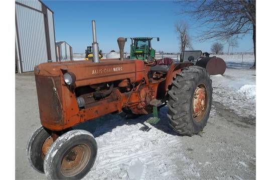 1959 Allis Chalmers D17 Gas Tractor 2ND OWNER, narrow front