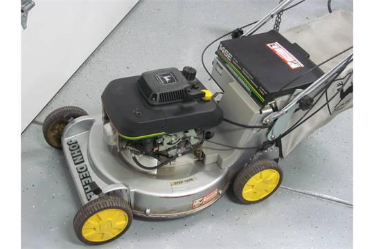 John Deere Lawn Mower 21 14se Electric Start Self Propelled Low Hours Not Running Need Batt