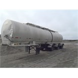 1972 WESTANK TRI-AXLE TAR TANKER TRAILER W/ SINGLE COMPARTMENT, S/N 72WR181.  (THIS UNIT IS