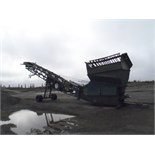 1990 POWERSCREEN MODEL MKII PORTABLE SCREENING PLANT, S/N 2726613 C/W FEED HOPPER W/ GRIZZLY AND