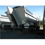 2011 MIDLAND MODEL SK-2400 T/A END DUMP TRAILER C/W MANUAL ROLL TARP & 11R 22.5 TIRES, S/N