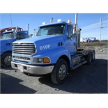 2007 STERLING MODEL LT9500 SERIES T/A TRUCK TRACTOR S/N 2FWJAZAV27AW89201 W/ DAY CAB, 379,759 KM