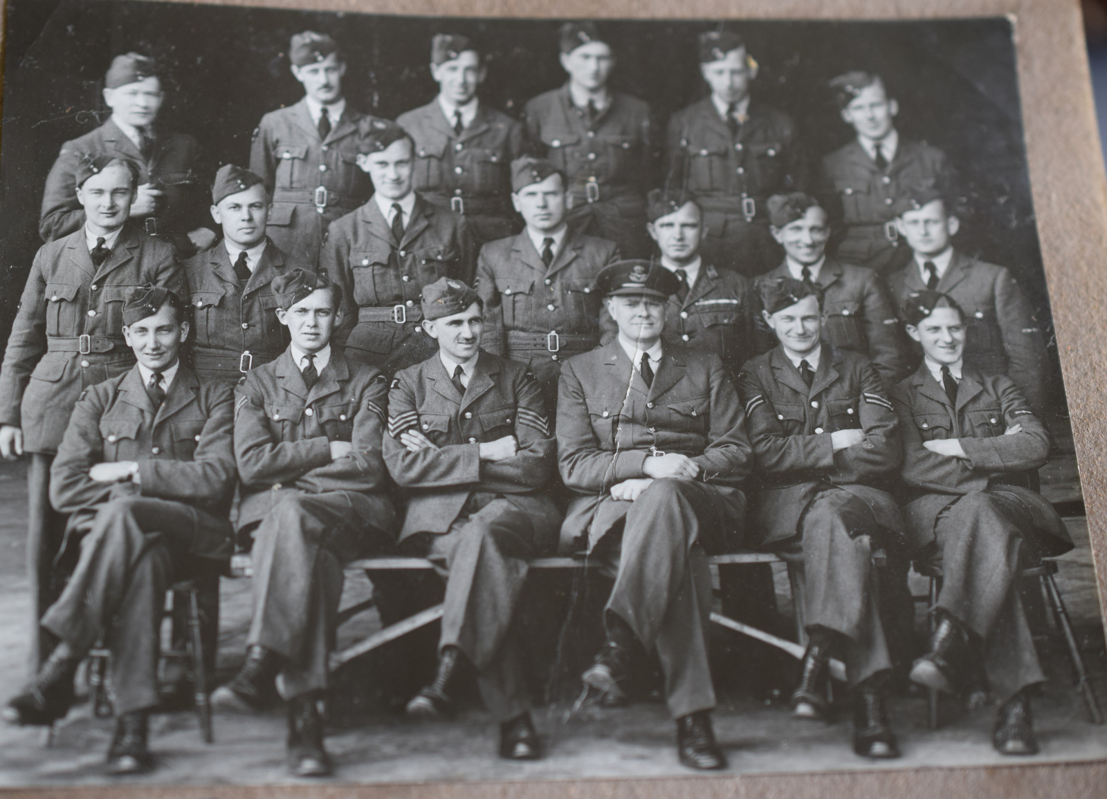 WW2 RAF Photo Album And Badges, Medals - Image 2 of 9