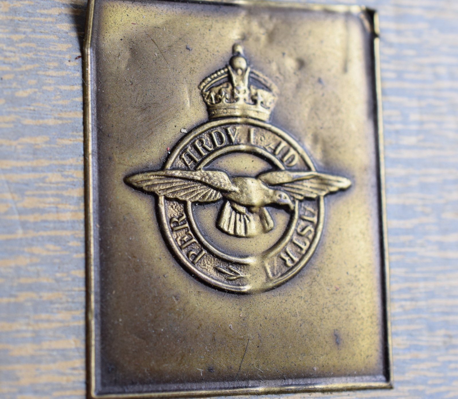 WW2 RAF Photo Album And Badges, Medals - Image 9 of 9