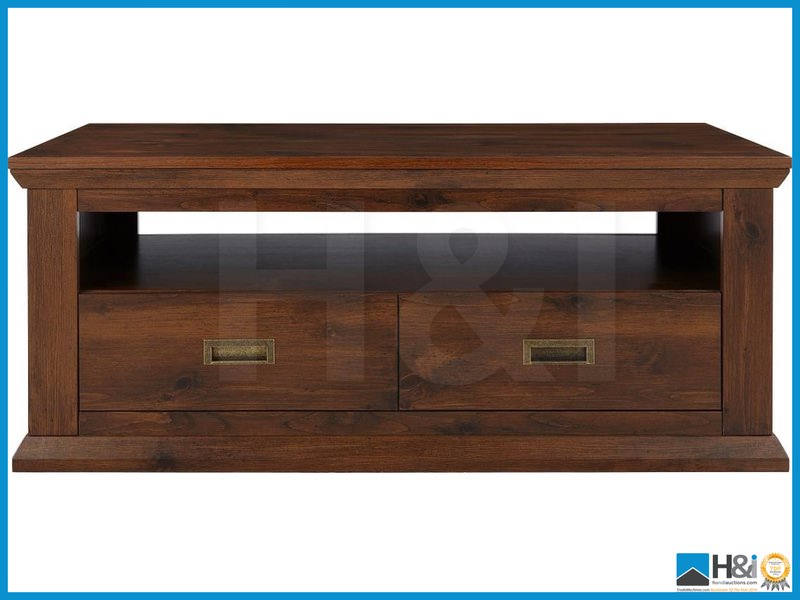New in box clifton 2drawer coffee table walnut 50 x 120 for Coffee table 60cm x 60cm