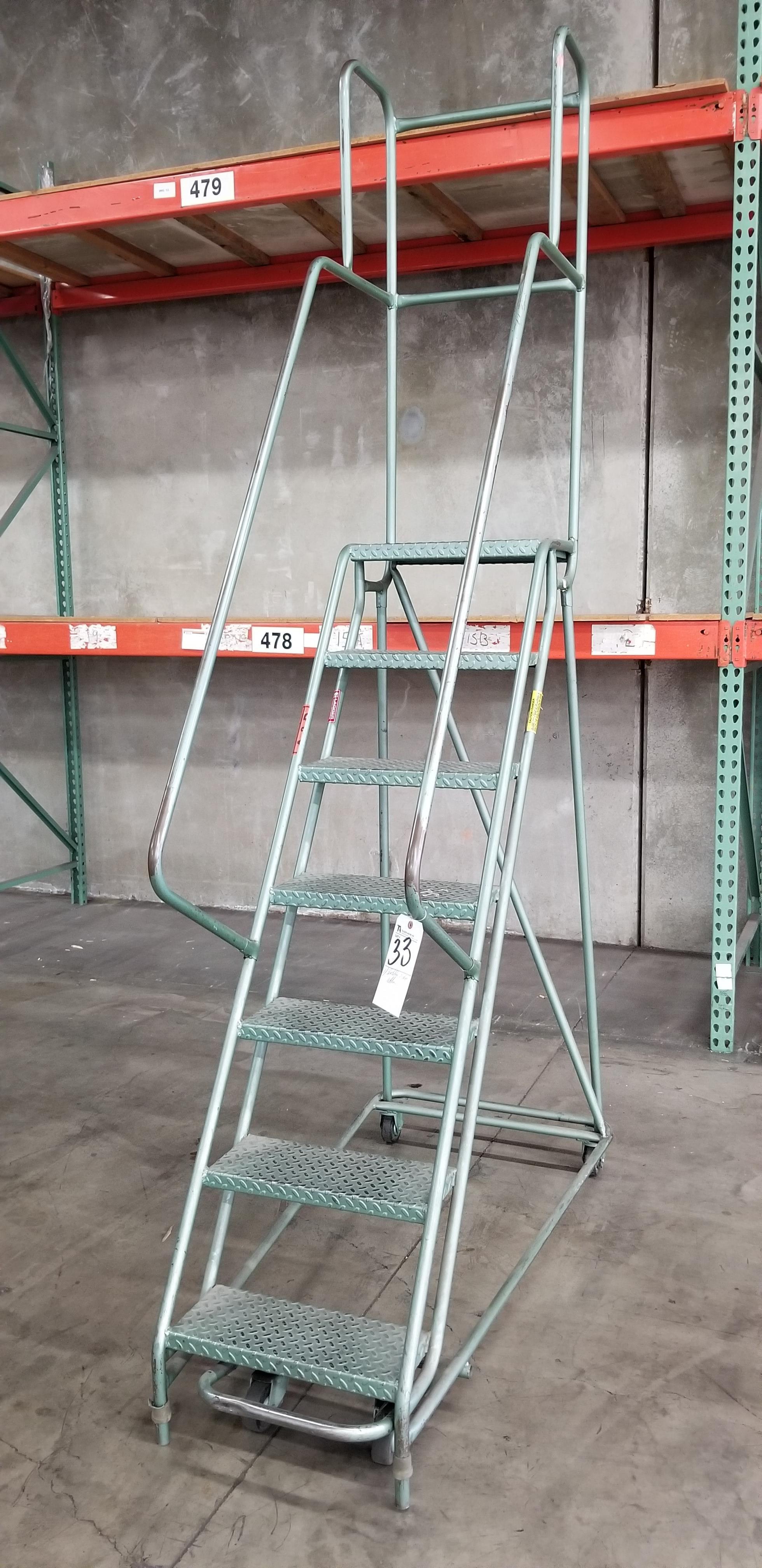 Lot 33 - 7-Step Portable Ladder