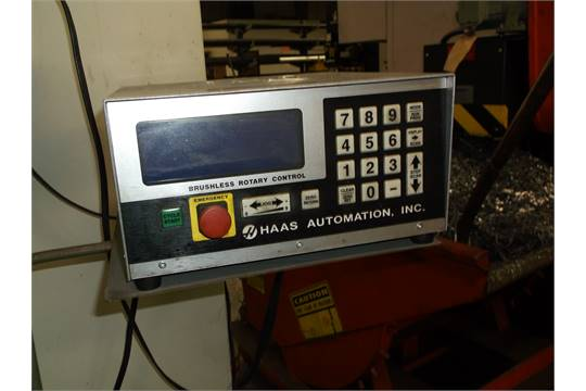 Haas HRT210 Rotary Indexer And Tailstock HTS6 Haas