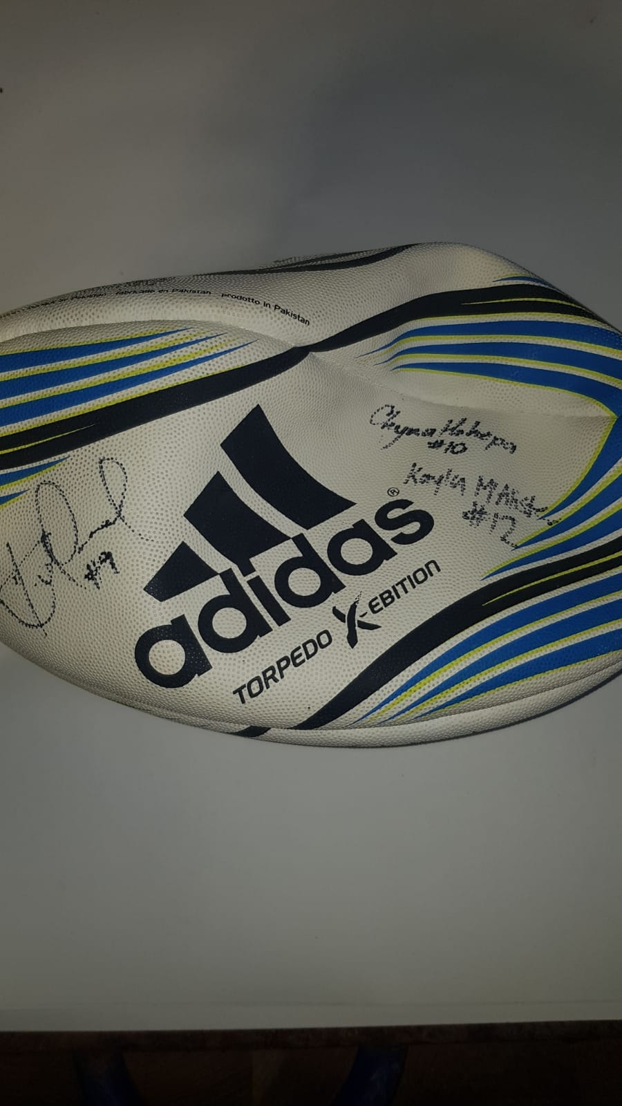 Lot 58 - SIGNED RUGBY BALL NEW ZEALANDS